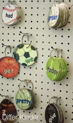 Making sight word mastery fun and engaging.  Your students will beg you to let them practice their Ball Words sight word mastery rings.