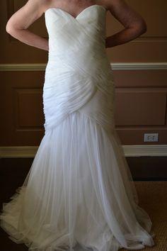 "Wtoo by Watters ""Cyprus"" Style #10311 Wedding Dress Size 14 - Nearly Newlywed Wedding Dress Shop"
