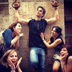 Nathaniel Buzolic- life as a Roman #instagram