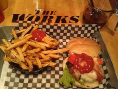 The Works - great selection of burgers (but ask for medium, not well-done) Canada Lifestyle, Ottawa Canada, Loudoun County, Gourmet Burgers, Poutine, Menu Restaurant, Hamburger, Wellness, Medium