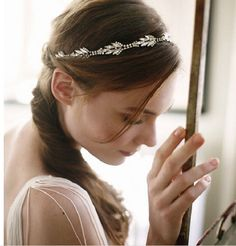 Wedding Headband Bridal Headband Rhinestone by SpecialTouchBridal