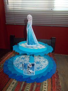 Centro De Mesa Frozen Para La Mesa De Tu Cumple!!! - $ 35,00 en MercadoLibre