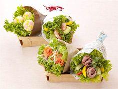 えびとアボカドのブーケサラダ Vegetable Bouquet, Private Chef, Food Presentation, Bento, Avocado Toast, Food To Make, Meals, Vegetables, Breakfast
