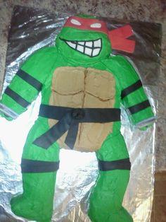 Ninja turtle cake by younique taste