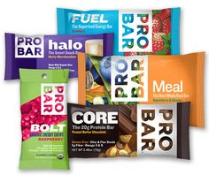 PROBAR is the leading provider of meal replacement, organic energy bars and Non-GMO energy bars that are delicious, convenient, healthy and plant-based.
