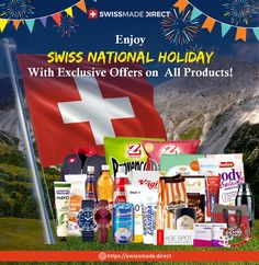 """Save some cash while we honour red and white! #Celebrate massive savings on Swiss-made products on the auspicious occasion of Swiss National Holiday. Enjoy an exclusive 30% discount on Swiss-made #watches and a 15% #discount on every other Swiss products when you buy from our online store. Use our promo code """"INDEPENDENCE30"""" for Watch & """"INDEPENDENCE15"""" for all during checkout to save huge on your purchase. The offer will expire on 8th August. Organized Teacher, Teacher Organization, Electronic Circuit Projects, National Holidays, Red And White, Have Fun, Watches, Shopping, Heavens"""