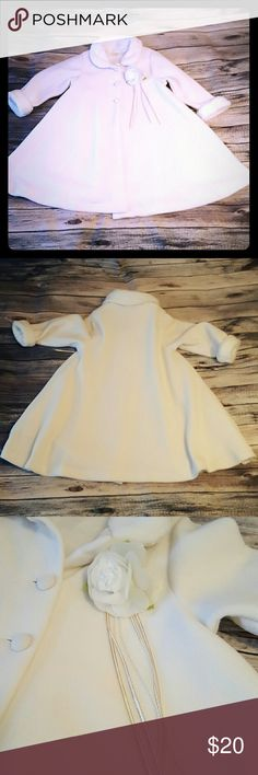 Communion White Jacket, size 6 This is perfect to wear over your daughter's communion dress, especially if you have a morning communion.  All my stuff comes from a smoke free and pet free home.  I encourage you to bundle to save on shipping, so check out my closet for other deals! Jackets & Coats Pea Coats