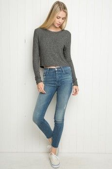 3ca4d2d7a42fe Long Sleeves - Tops - Clothing. Brandy Melville OutfitsBrandy Melville UsaTeen  ...