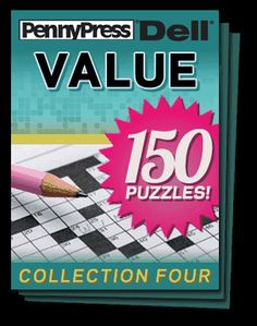 Dell Collection Four Our Newest Addition To The Penny Crosswords App Library Of Puzzle Sets