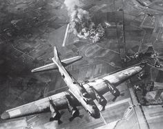Boeing B-17 Bomber #WWII: Daylight Precision Bombing of #Nazi #Germany.  Source - World War II From Above