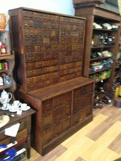 Antique Furniture/apothecary/general Store Candy Cabinets
