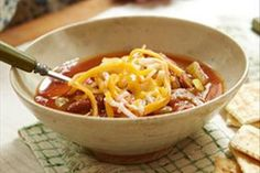 This soup is brimming with vegetables and great Southwest flavour.