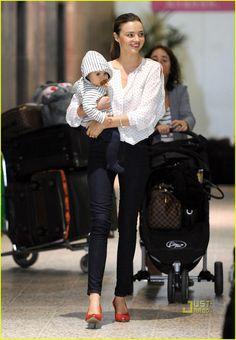 Miranda Kerr and Flynn. //