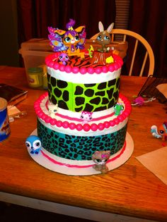 LPS cake for my daughter's 5th birthday