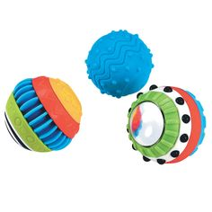 Early Learning Centre ELC Sensory Discovery Balls Play & Learn 6mnth+