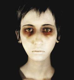 Zombie-Eyes-Makeup-For-Halloween Eye Makeup Zombie Make Up, Zombie Eyes, Zombie Prom, Zombie Walk, Ghost Makeup, Dead Makeup, Horror Makeup, Scary Makeup, Sfx Makeup