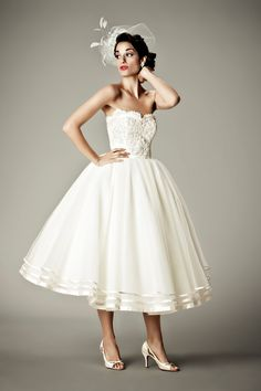 This Is The Dream Lt 3 Tea Length Wedding Dresses For Women