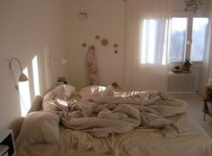 Romantic bedroom; wish I can be messy but it is against my nature. From: Apartment Therapy