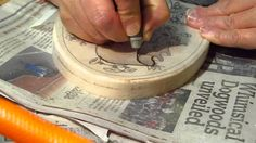 Wood Carving With a Pneumatic Engraver Part 1