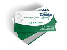 Business card Pet Shop Animal Health - Flyer - Creation and layout art.