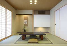 Japanese Interior Design, Japanese Home Decor, Asian Home Decor, Japanese Design, Japanese Style, Japanese Architecture, Contemporary Architecture, Washitsu, Japanese Living Rooms