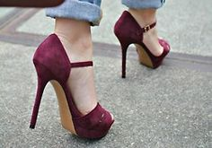 Add a pop of Aggie Maroon to your wedding with cute heels. Had to add this because that first sentence is actually what another pinned said. Thought Jeriah would appreciate ;)