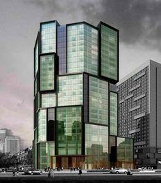 Le Meridien Hotel Zhengzhou Neri #architecture - ☮k☮