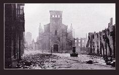 Guernica, la ville bombardée( images de presse de l'époque)  26 avril 1937.