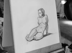 Samantha's uniquely designed Figure Drawing series, combines her experience from 2D feature animation, academic drawing, and classical ballet.