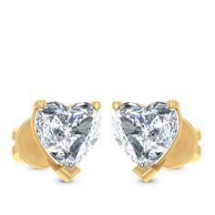 Norah Solitaire Earring Diamond Solitaire Earrings, Jewels, Jewerly, Gemstones, Fine Jewelry, Gem, Jewelery, Jewelry, Jewel