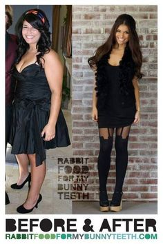 痩せたら綺麗になるが一目でわかる画像【ダイエットビフォーアフター】 : 痩せるダイエット速報