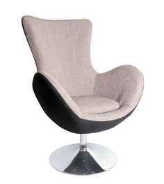 Fotoliu tapitat Butterfly Dark Grey ( S ) Arne Jacobsen, Egg Chair, Butterfly, Living Room, Retro, Interior, Furniture, Home Decor, Style