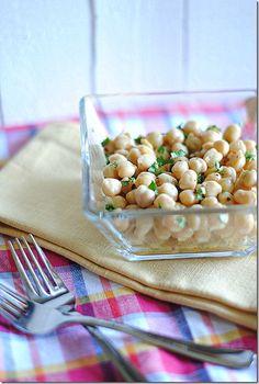 Lemony Chickpea Salad via Eat Yourself Skinny