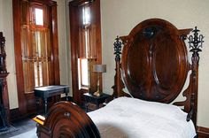 Elmwood is filled with antique furniture Emma Watts collected, often on buying…