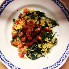 Sticky Chicken & Couscous