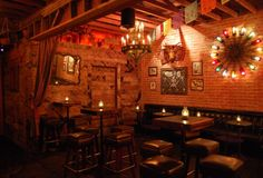 La Cuevita - new, Old-World Mexican grotto set in the heart of the Highland Park Mexican Bar, Mexican Style, Los Angeles Bars, Tequila Bar, Garage Bar, Bar Interior Design, News Cafe, My Bar, Back Bar