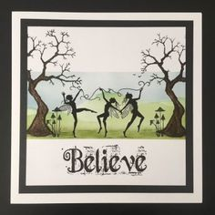 Created by Tracy Nutton using Lavinia Stamps. Lavinia Stamps Cards, Elfen Fantasy, Rubber Stamp Company, Fairy Paintings, Fairy Silhouette, Kids Cards, Craft Cards, Ppr, Beautiful Fairies