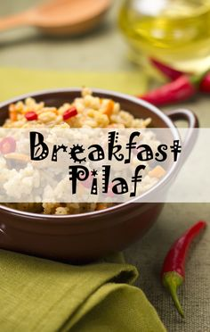 Mark Bittman's VB6 diet is a delicious solution to losing weight, and the breakfast pilaf recipe shows why.