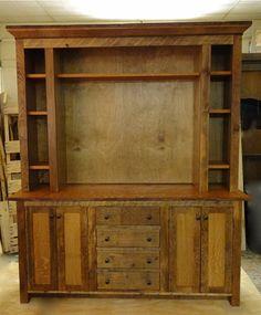 rustic center quarter sawn oak - Rustic Center
