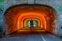 Tunnel of light by CarlosAmaralPhotographer