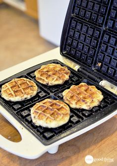 Your waffle maker isn't just for waffles anymore! We experimented by cooking several different things on our waffle iron...so you don't have to! Check out what worked, and what didn't.