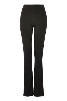 Ponte Skinny Flare Trousers - Trousers & Leggings - Clothing - Topshop Europe