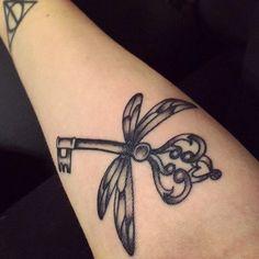 Harry potter key tattoo 4