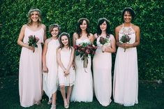 maxi bridesmaid dresses