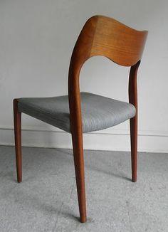 Neils Moller Teak Dining Chairs