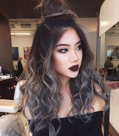 dark gray hair - Cerca con Google