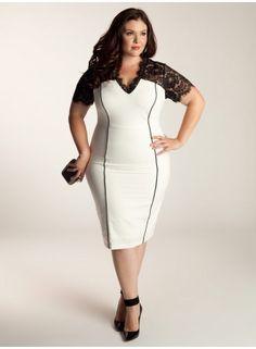 Denise Dress in Ivory