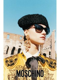 Discover the new AD Campaign Moschino S/S 2012 shot in Rome by Juergen Teller and starring Kasia Struss!
