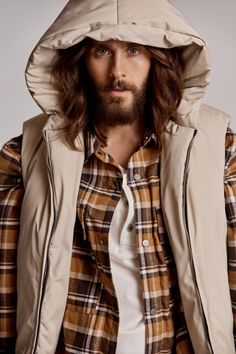 Jared Leto Stars in Fear of God's Sixth Collection Alongside Nike Collab Jared Leto, Thirty Seconds To Mars, 30 Seconds, Harry Styles, Stephenie Meyer Twilight, Grunge Guys, Beautiful Blue Eyes, Shannon Leto, Handsome Actors