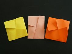 折り紙 ~ポチ袋/玉梓:十文字&卍~ - えつこのマンマダイアリー